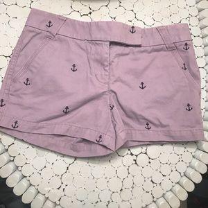 💓SUPER CUTE J. CREW anchor shorts